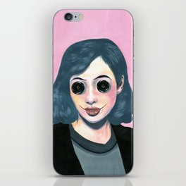 Eyes-Buttons iPhone Skin