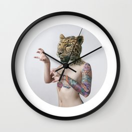 Therianthrope - Leopard Wall Clock