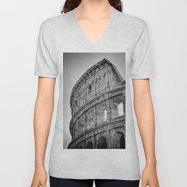 Coliseum Rome. Italy 72 Unisex V-Neck