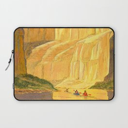 Kayaking The Colorado River In The Grand Canyon Laptop Sleeve