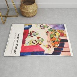 Donation Picasso Exhibition poster - Musée du Louvre Rug