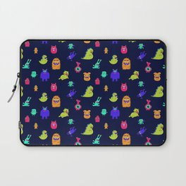 Monster Squad Goals Pattern Laptop Sleeve