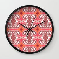 spice Wall Clocks featuring Marrakech Spice by ALLY COXON