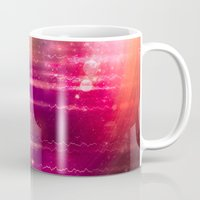 halo Mugs featuring Sun Halo by Tom Lee