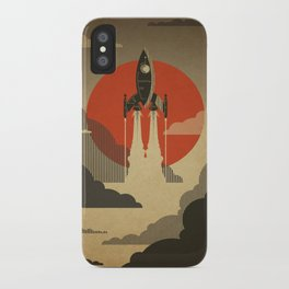 The Voyage (Grey) iPhone Case