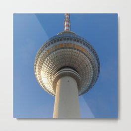 Berlin TV Tower, Alexanderplatz Metal Print