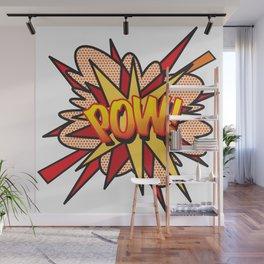 POW Comic Book Flash Pop Art Retro Cool Graphic Wall Mural