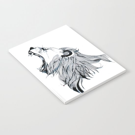 Growling Lion Notebook