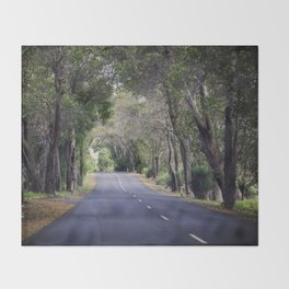 long road home Throw Blanket
