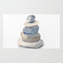 Beach Rocks Rug