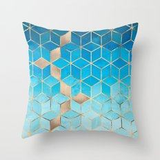 Sea And Sky Cubes (Custom Request) Throw Pillow
