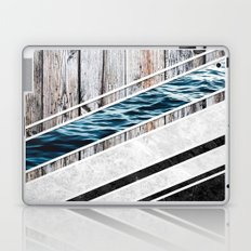 Striped Materials of Nature I Laptop & iPad Skin