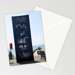 The Kiss Wall, Brighton, UK Stationery Cards
