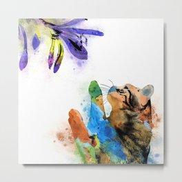 Cat 610 Metal Print