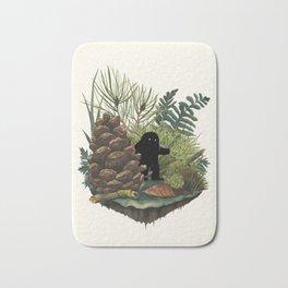 Tiny Sasquatch Bath Mat