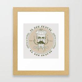 EL BAR PEYOTE Framed Art Print