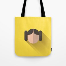 Leia Minimalist Poster Tote Bag