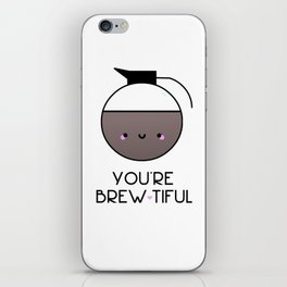 Beauty is in the eye of the Mug Holder iPhone Skin