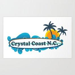 Crystal Coast - North Carolina. Art Print