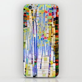 Winter Woods Abstract iPhone Skin