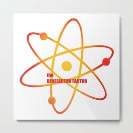 the Benefactor Factor - Season 4 Episode 15 - the BB Theory - Sitcom TV Show Metal Print