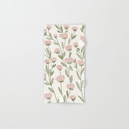Rose Garden Pattern Hand & Bath Towel