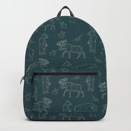 Creature of Mountain - Teal Backpack