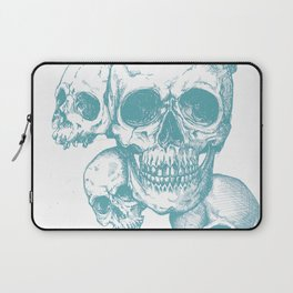 Blue Skulls Laptop Sleeve