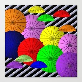 do you like umbrellas? Canvas Print