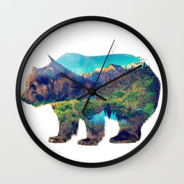 Nature Giant Wall Clock