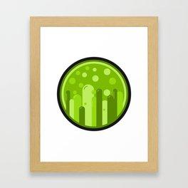 It Bubbles Up Framed Art Print