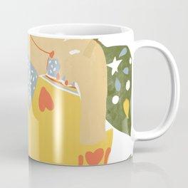 Heart on her sleeve Coffee Mug