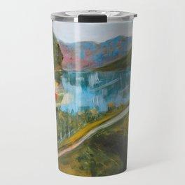 Flåm From Above Travel Mug