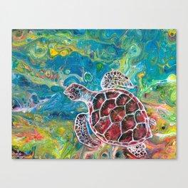 Sea Turtle Dream Canvas Print