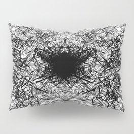 Azuneo City #1 -Black Pillow Sham