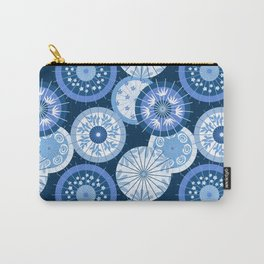 Classic Blue Umbrellas Carry-All Pouch