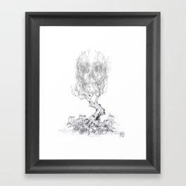 Extinction  Framed Art Print