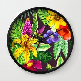 La Isla  Bonita Wall Clock