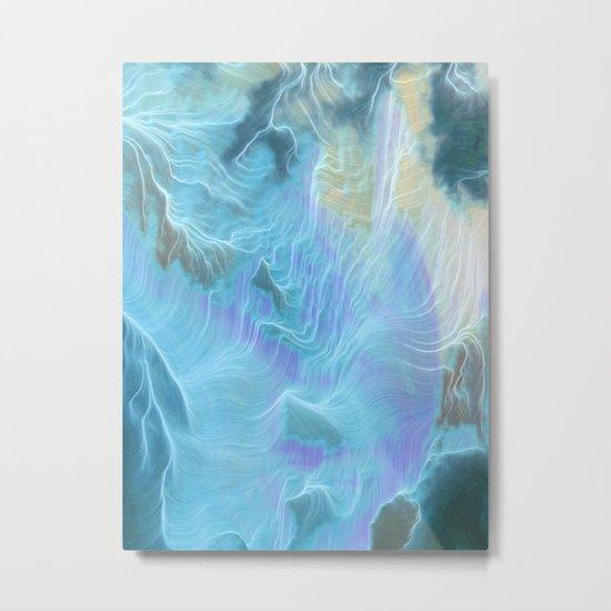 Ice Water Metal Print