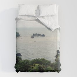 New Zealand Coast Duvet Cover