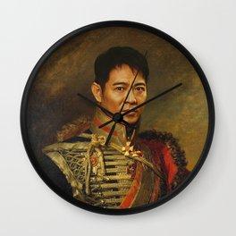 Jet Li - replaceface Wall Clock