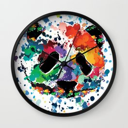 Splash panda Wall Clock