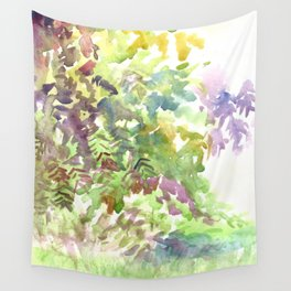 After Gardening Wall Tapestry