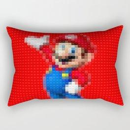 Mario - Toy Building Bricks Rectangular Pillow