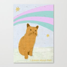Pet My  Canvas Print