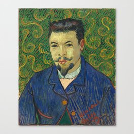 Vincent van Gogh - Portrait of Doctor Félix Rey Canvas Print