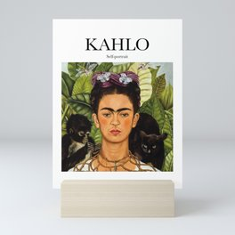 Kahlo - Self-portrait Mini Art Print