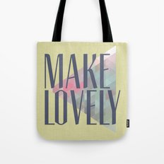 Make Lovely // Leaf Tote Bag