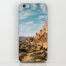 Rock Mountains in the Desert iPhone & iPod Skin