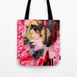 and then Odysseus lands in Japan Tote Bag